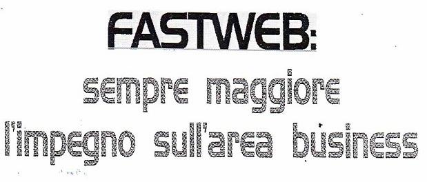 """Andrea Conte, Direttore della Divisione business e residenziale di Fastweb, ritira il premio internazionale CISCO """"Partner of the Year"""" per i risultati ottenuti nel mercato corporate. FASTWEB sempre maggiore l'impregno..."""