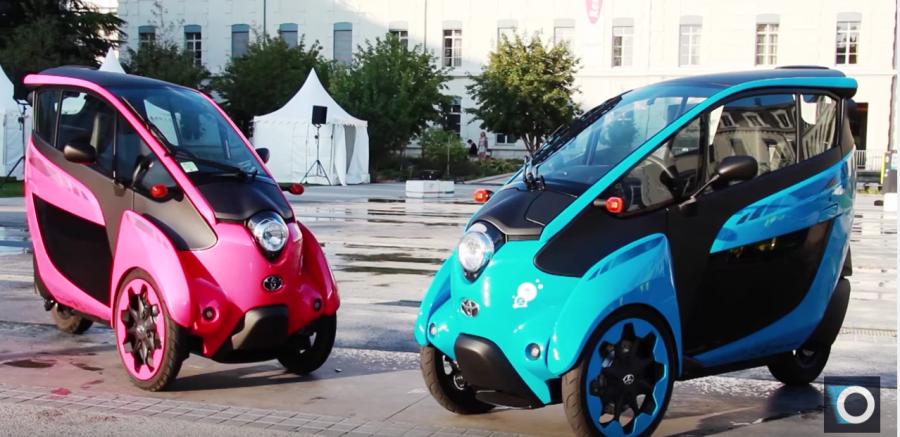 veicoli elettrici toyota Grenoble