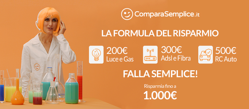 ComparaSemplice.it è in TV con la FORMULA del RISPARMIO: Fa...